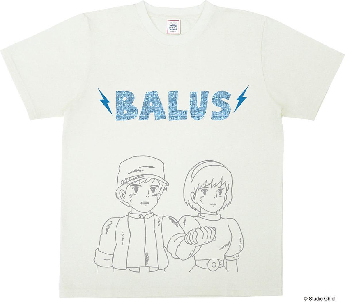 スタジオジブリ作品公式「バルスTシャツ」登場!『となりのトトロ』『魔女の宅急便』『紅の豚』など人気作品がTシャツに! fashion180605_ghibli_5-1200x1049