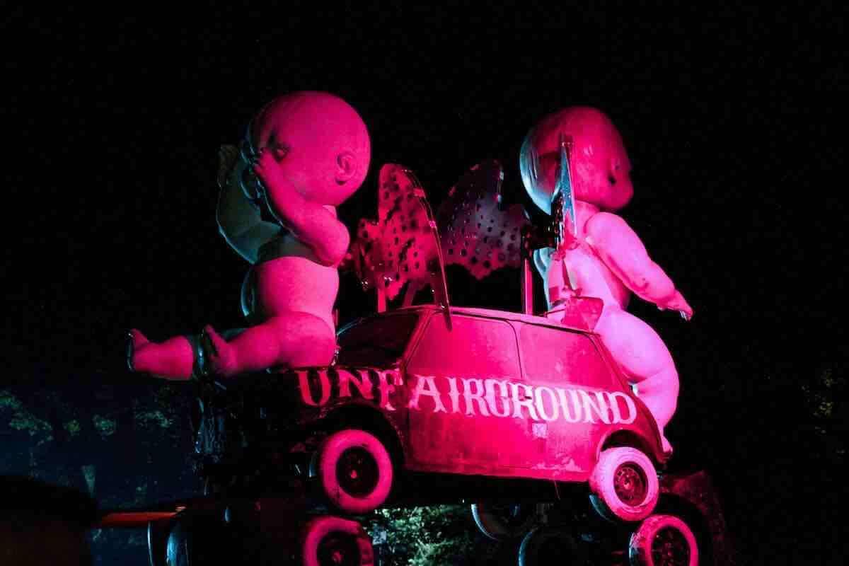 ラジオ番組『Tokyo Brilliantrips』連動!開催直前フジロックの深夜の楽しみ方などをご紹介! UFG-Pink-minihenge-low-res-1200x800