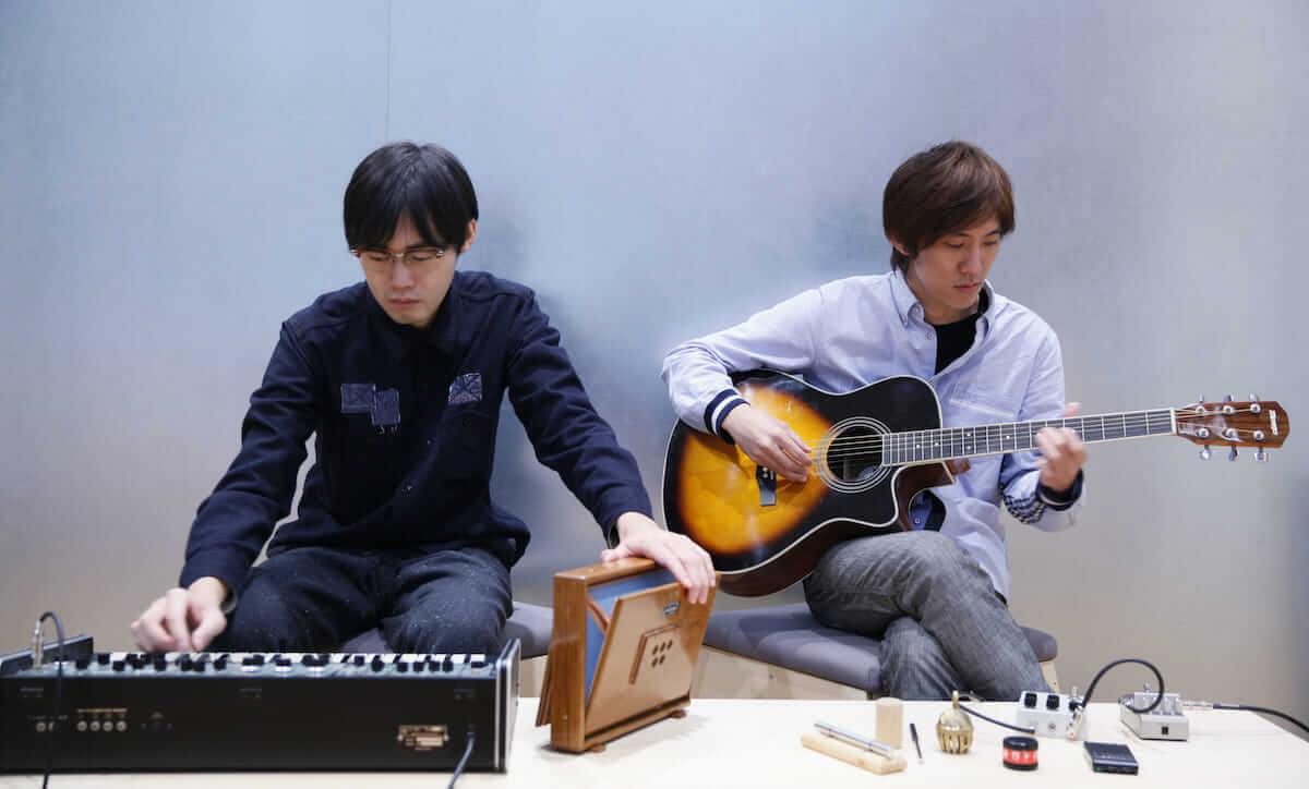 「風景を感じる音楽」をテーマにしたイベント<タビノエ-きこえる音、うかぶ風景->が開催!ライブでは「布」に映像を投影する演出 music180810_tabinoe_03-1200x724