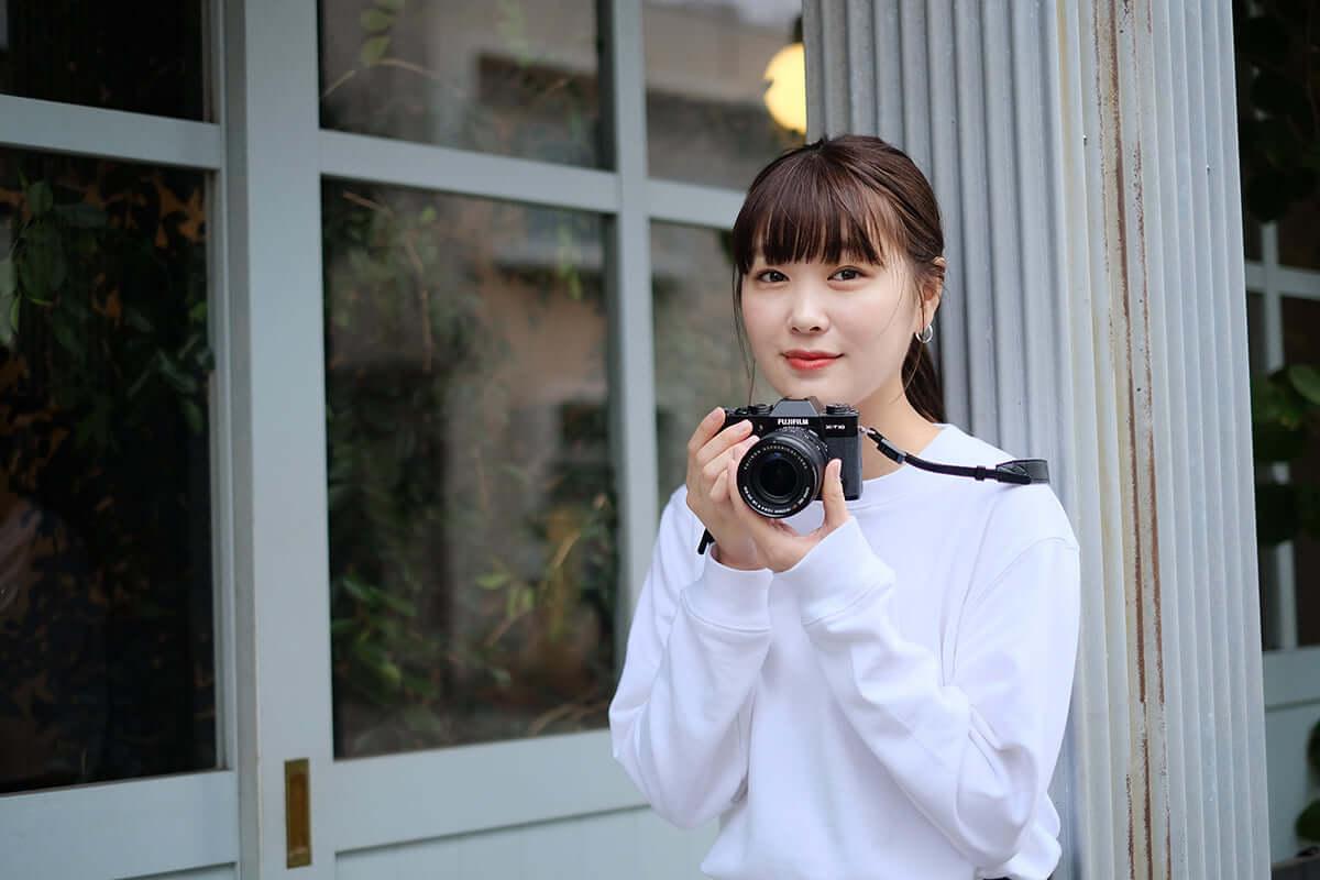 フォトグラファーとしても活躍するモデル・柴田ひかりのカメラへの想いと挑戦。 shibatahikari_1-1200x800