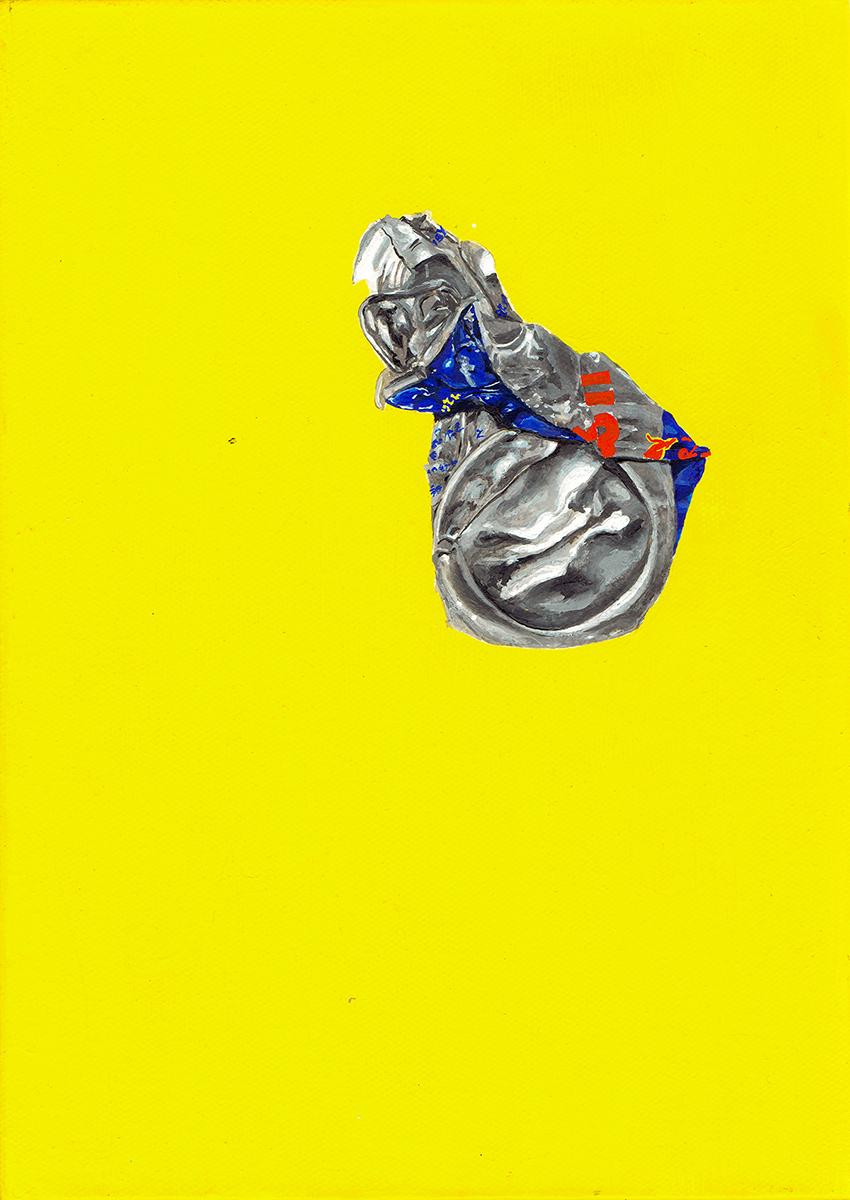 """【インタビュー】skydiving magazine・村田実莉×""""ゴミ""""アーティスト・吉本綱彦、「空気のない」もの/ことについての二人展<NO AIR>対談(後編) tsuna3"""