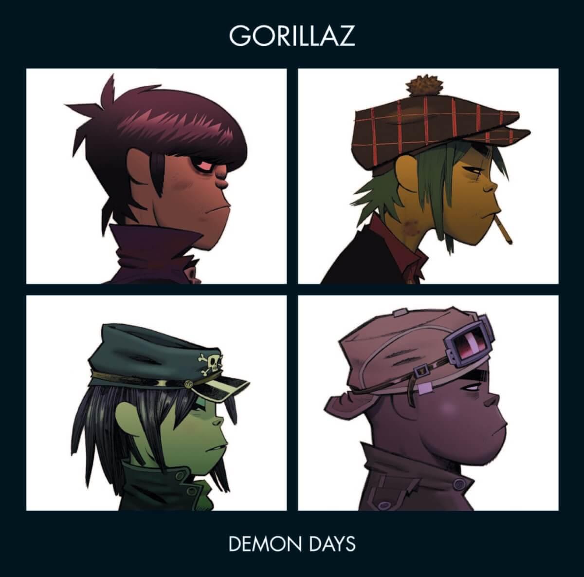 【まとめ】ゴリラズウィキペディア!メンバーや設定、バンドストーリーを徹底検証 gorillaz-wiki-feature_Demon-Days-1200x1185
