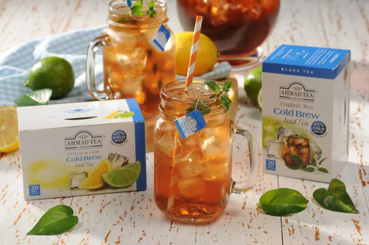 英国紅茶「AHMAD TEA」から夏にぴったりの水出し紅茶「コールドブリュー」新登場! gourmet1804224_tea_03-1200x798