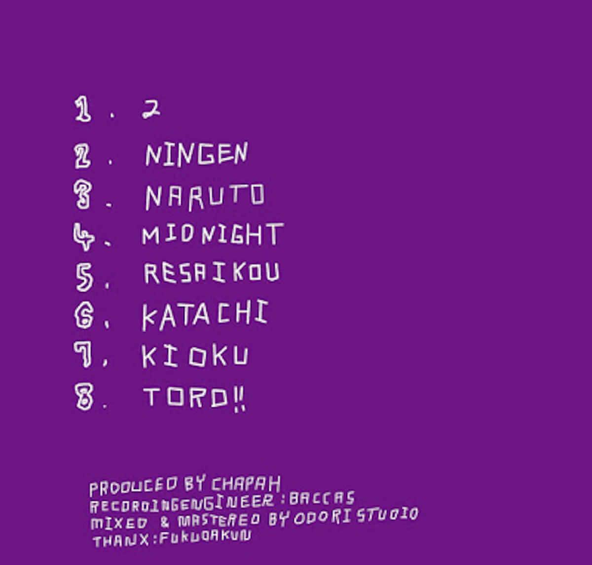 GAMEBOYSやVLUTENT ALSTONESのCHAPAHがMV「RESAIKOU」を公開|監督はIkuo Yamamoto music180707_chapah-gbs-2-1200x1146