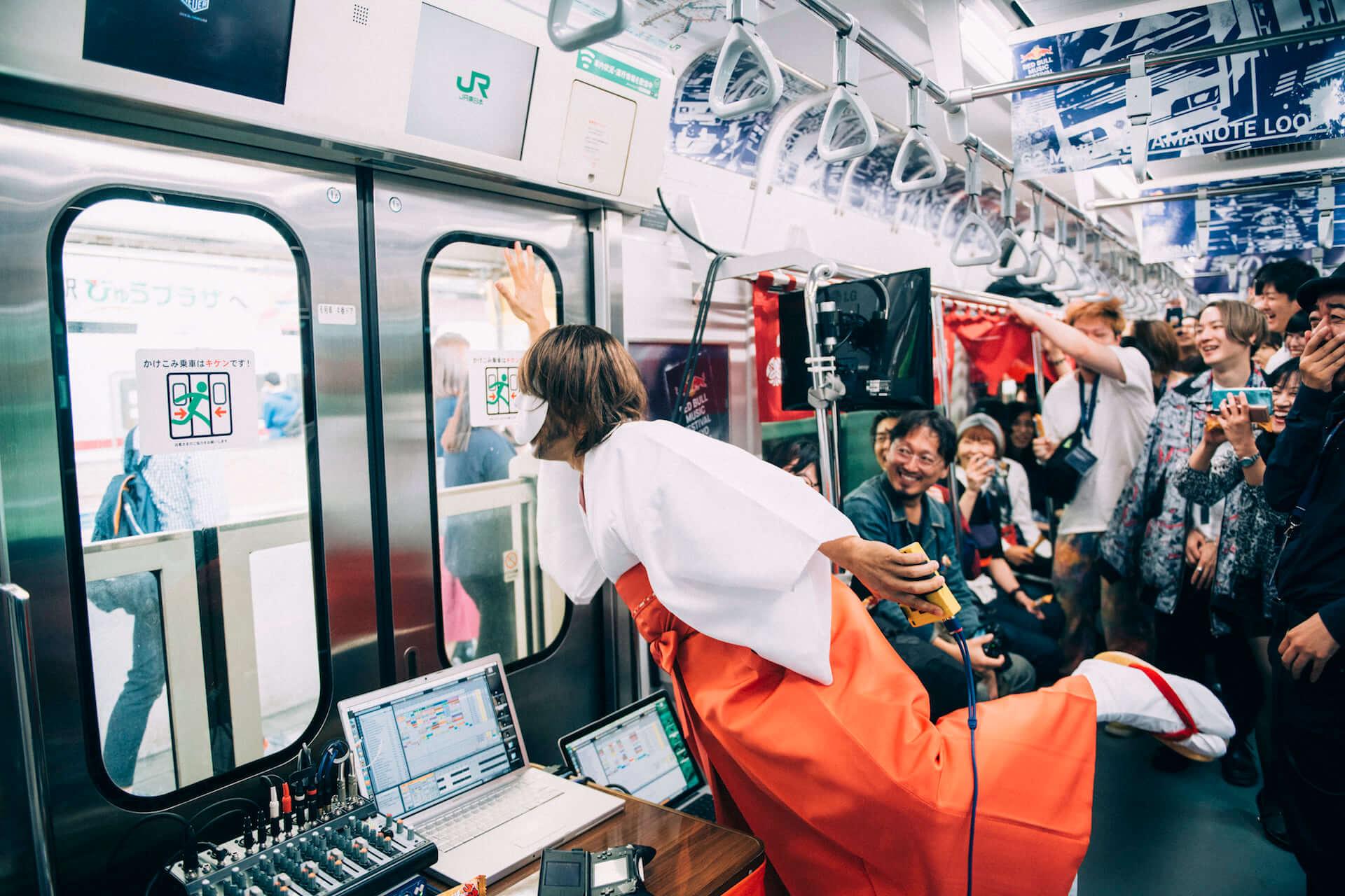 【フォトレポ】RED BULL MUSIC FESTIVAL TOKYO 2018|62 MINUTES YAMANOTE LOOP SS_22092018_62MINUTES_YAMANOTE_LOOP_0006-1920x1280